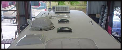 Repaired RV Roof in Clearwater, FL